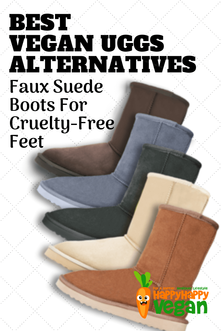 best vegan uggs alternatives pinterest image