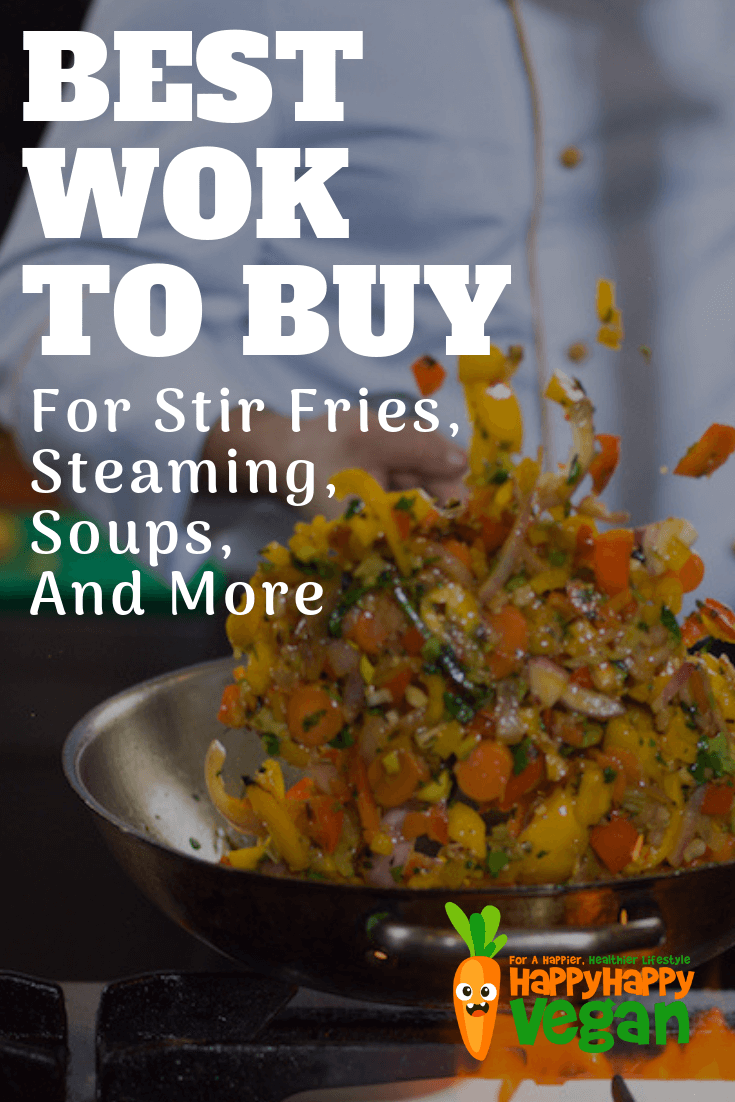 pinterest image for the best wok to buy article