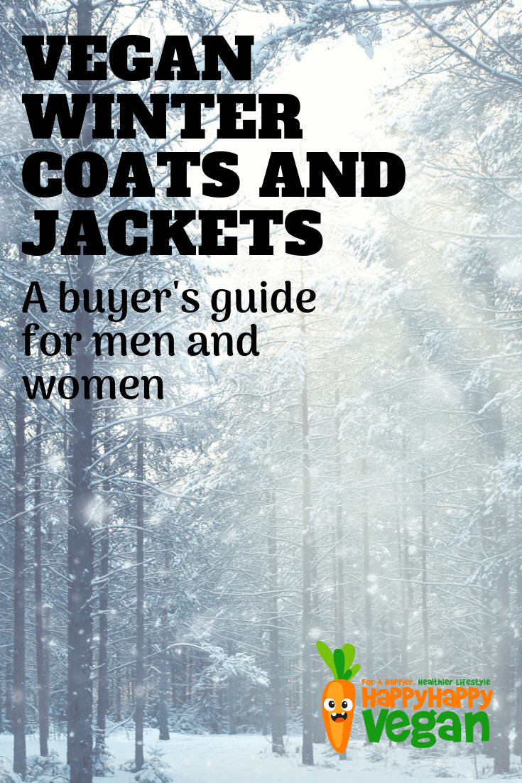 vegan winter jackets and coats buyers guide pinterest image