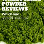 pinterest image for best wheatgrass powder reviews