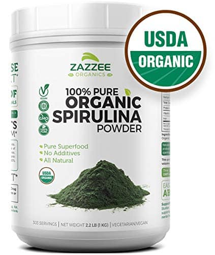 our winner of the best spirulina product on the market - Zazzee
