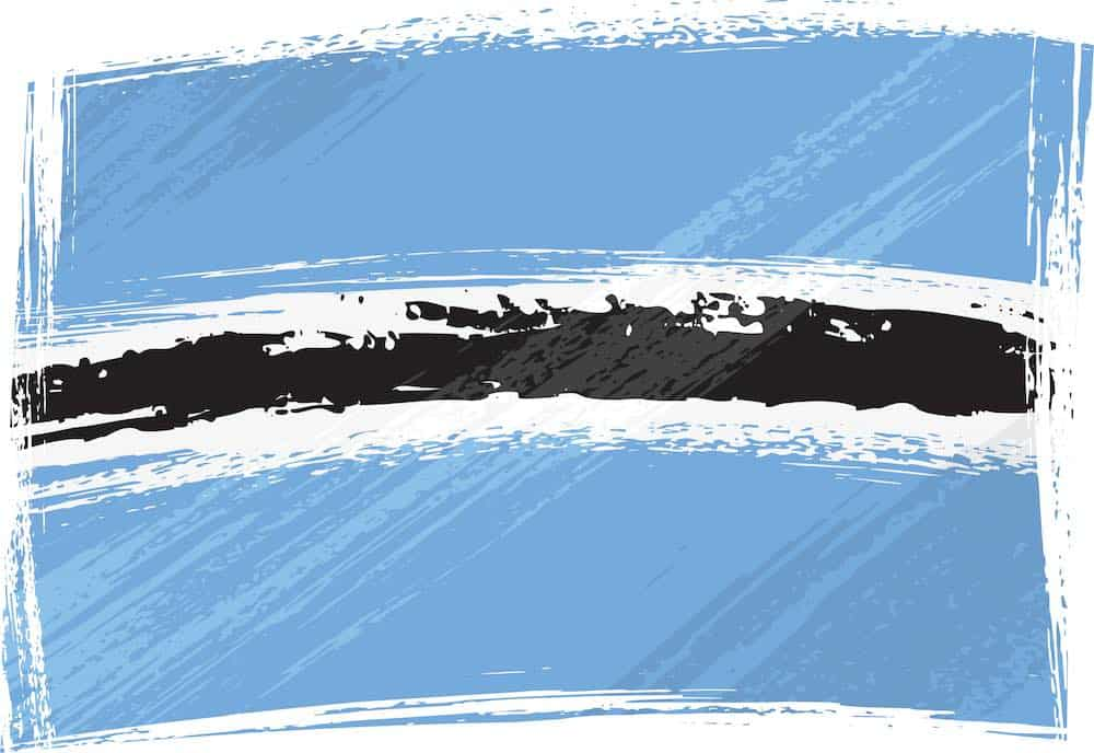 flag of botswana suicide hotline numbers