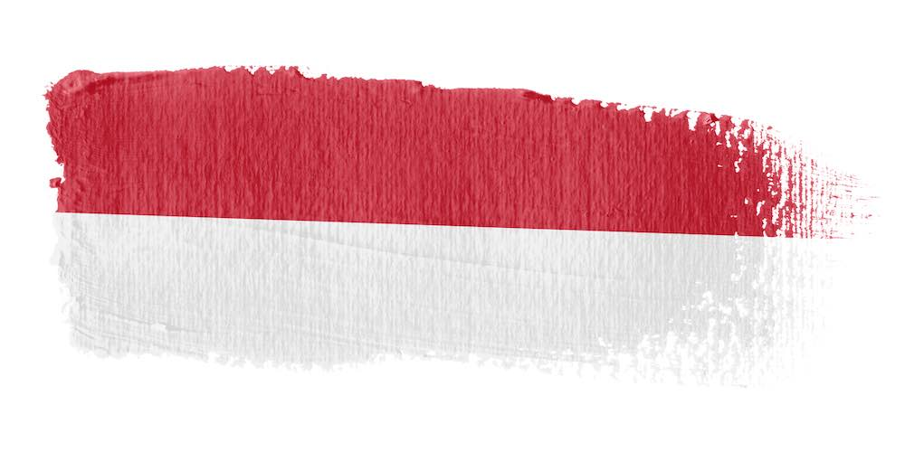 flag of indonesia mental health problems hotline