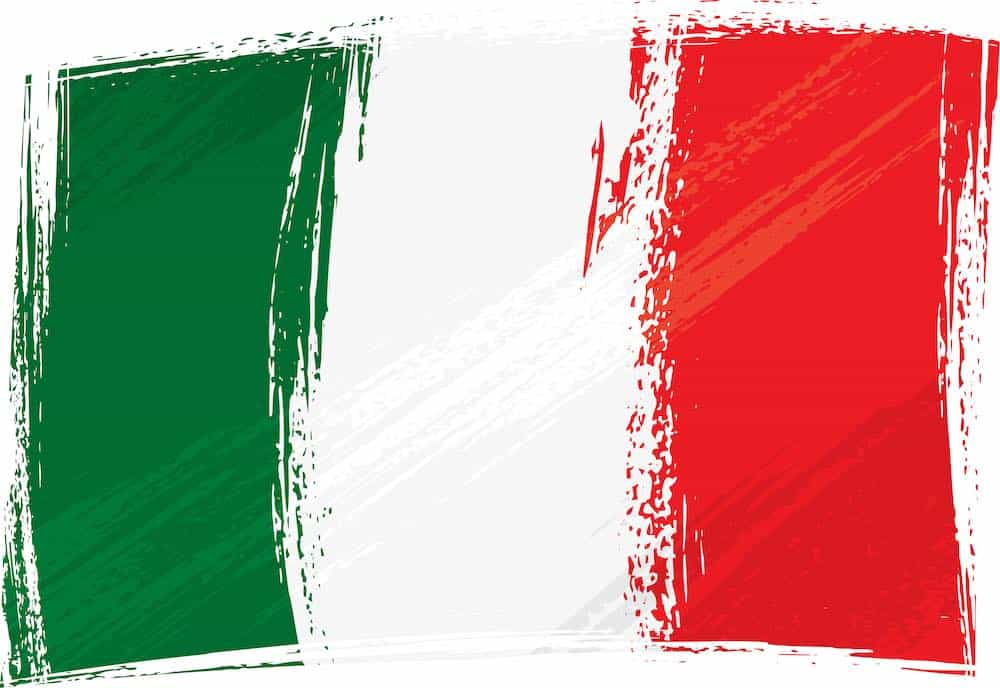 flag of italy depression advice and help