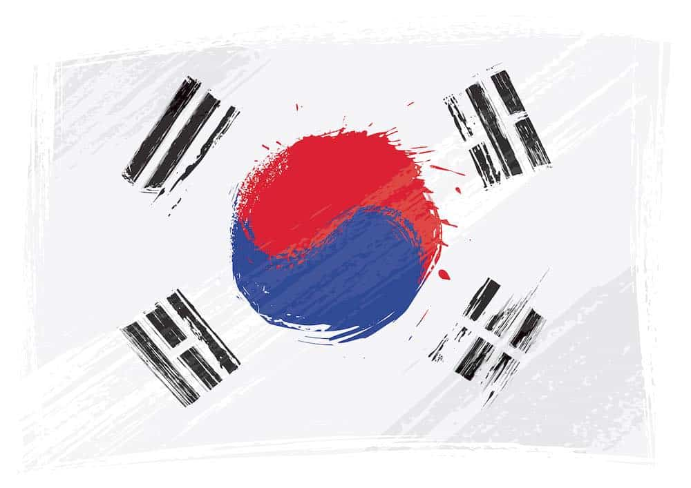 flag of south korea mental health helpline
