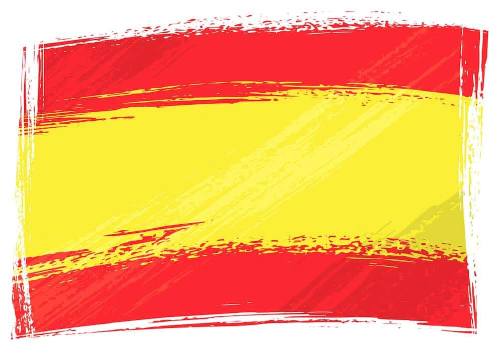 flag of spain mental health hotline