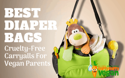 Best Diaper Bags For Vegan Parents: 15 Cruelty-Free Carryalls