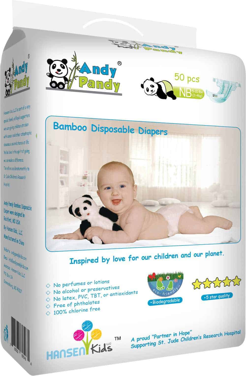 best disposable diaper Andy Pandy