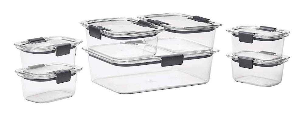 best meal prep storage containers rubbermaid brilliance