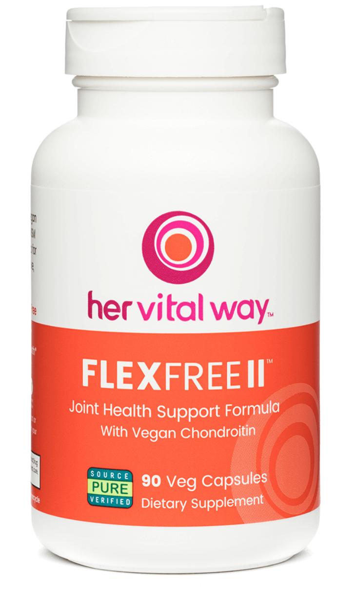 best vegan glucosamine supplement by her vital way flex free II