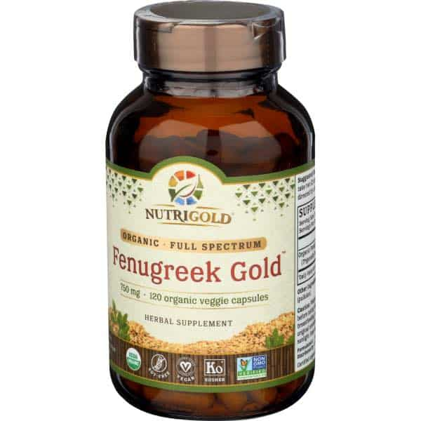 best vegan postnatal vitamin fenugreek gold