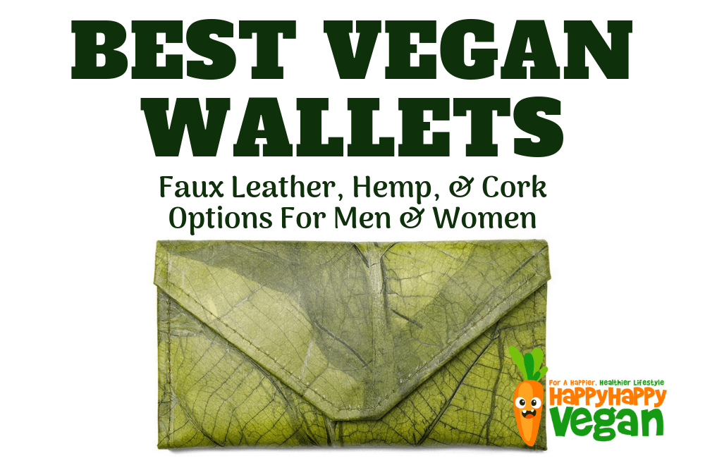 Vegan Wallets: 25 Faux Leather, Hemp, & Cork Options For Men & Women