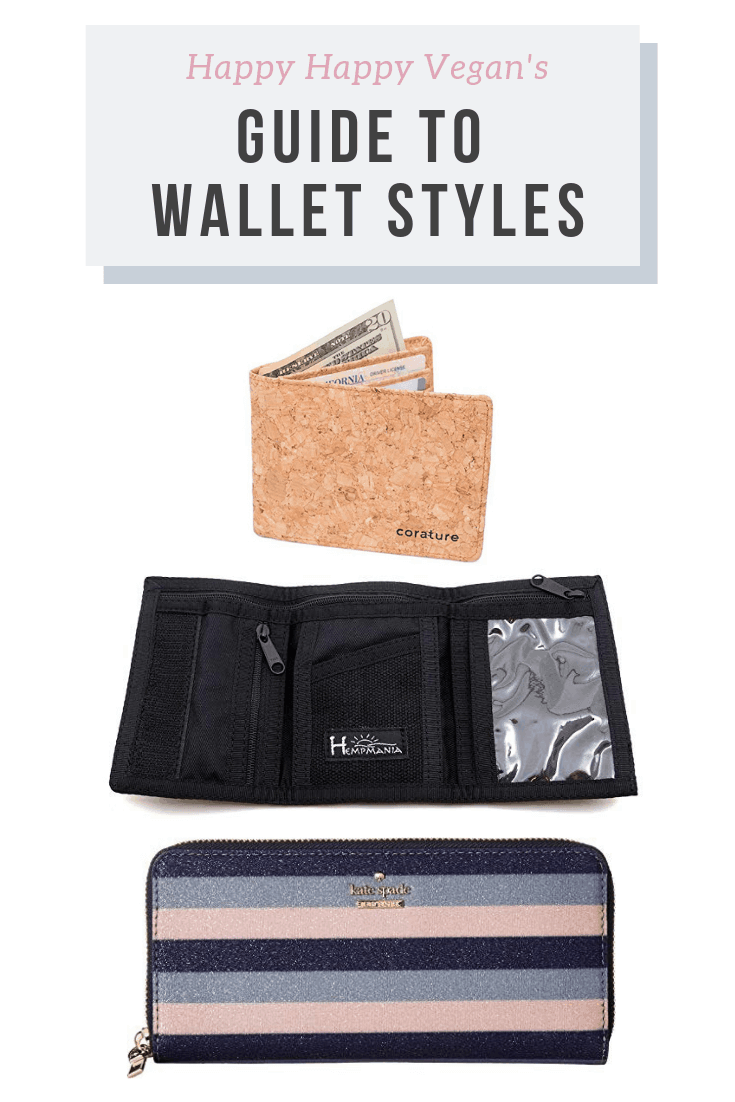 guide to vegan wallet styles and materials