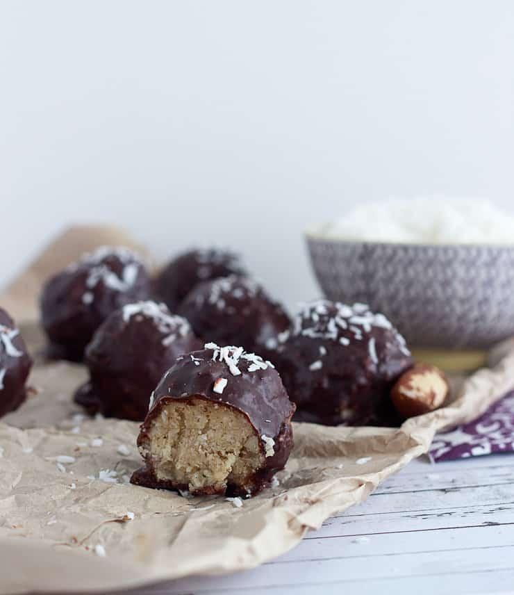 coconut and brazil nut truffles
