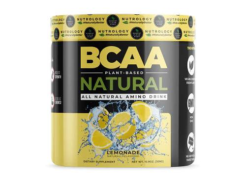 best bcaa for vegans - nutrology natural lemonade