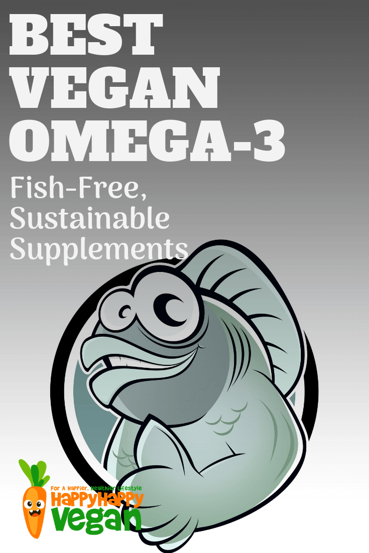 best vegan omega 3 supplements pinterest image