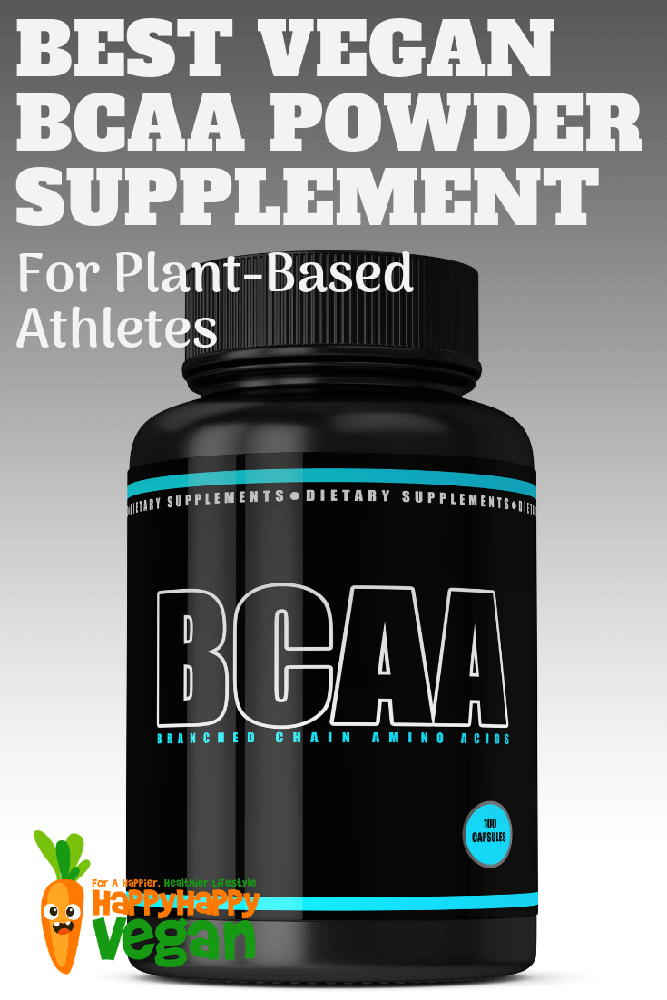 best plant-based bcaa supplement pinterest image