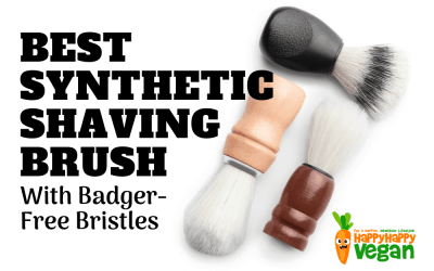 Best Synthetic Shaving Brush With Badger-Free Bristles