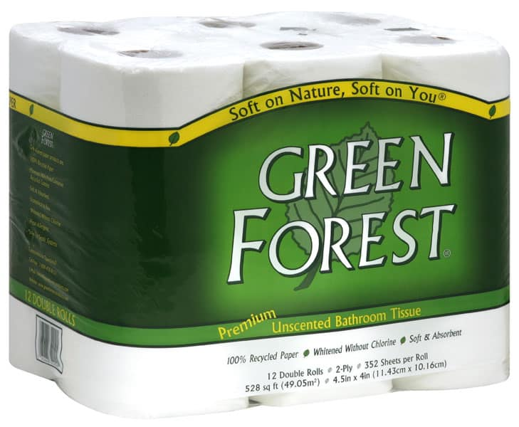 best vegan toilet paper green forest