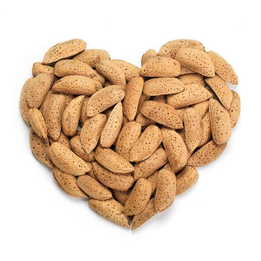 almonds heart health