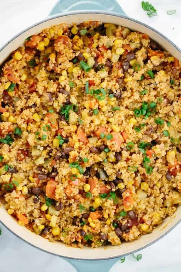 mexican quinoa one pot dish